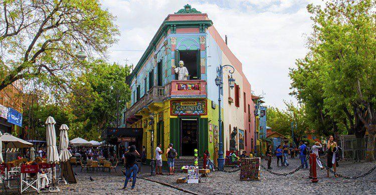 Edificio característico de La Boca. SamyStClair (iStock)