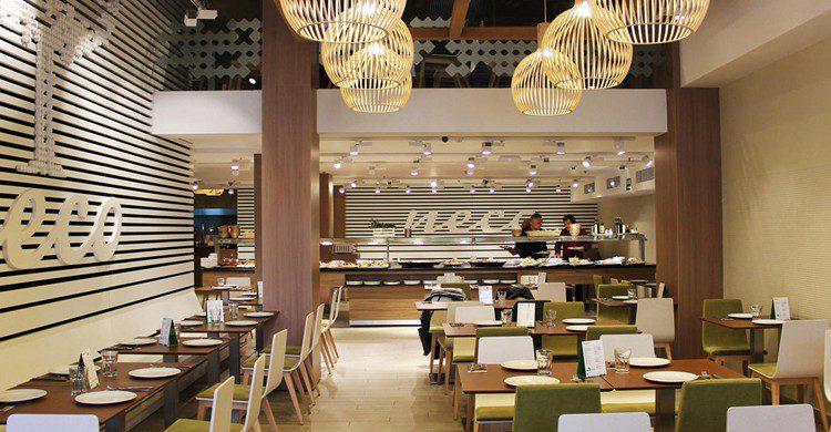 Vista de todo el restaurante (Web de Neco Buffet Mediterráneo)