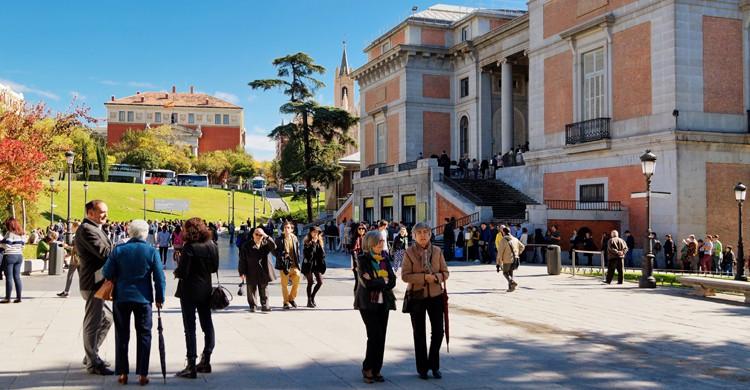 Exterior del Museo del Prado (iStock)