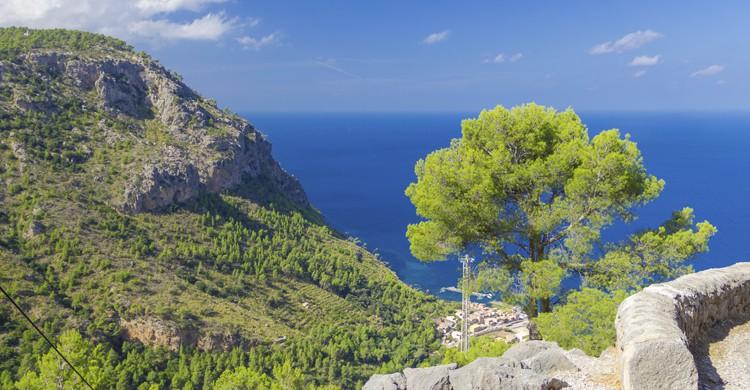 Preciosas vistas de la Sierra de Tramuntana (iStock)