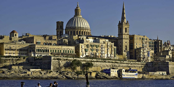 560px_Malta - Valletta from Marsamxett Harbour 01 by Clive Vella