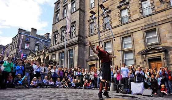 El festival Fringe es el escenario para las propuestas culturales más contemporáneas