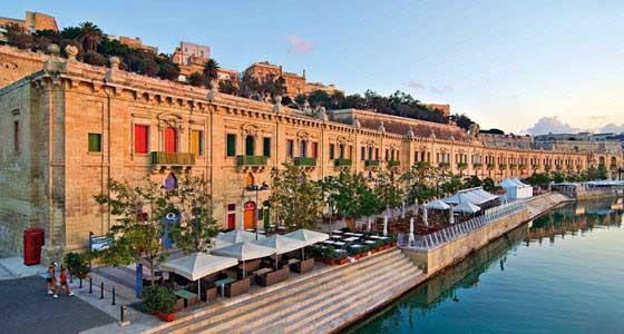 Valleta es una de las ciudades más bellas del Mediterráneo