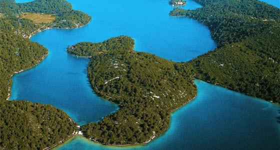 La isla de Mljet es un paraíso para los ciclistas