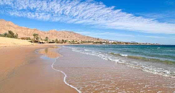 Las playas de Nuweiba están entre las mejores del Mar Rojo