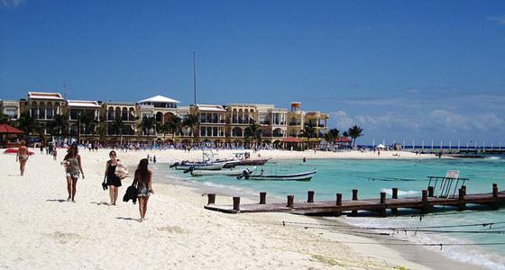 Playa del Carmen, en la Riviera Maya