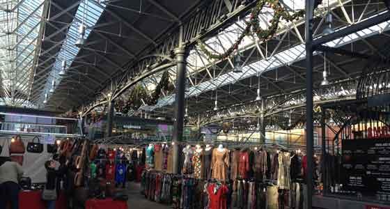 El Spitalfields Market es una cita obligada en tu viaje al East End de Londres