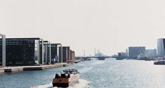 El puerto de Copenhague es una de las zonas más sostenibles de la ciudad