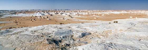 El Desierto Blanco de Egipto es uno de los lugares más mágicos del planeta