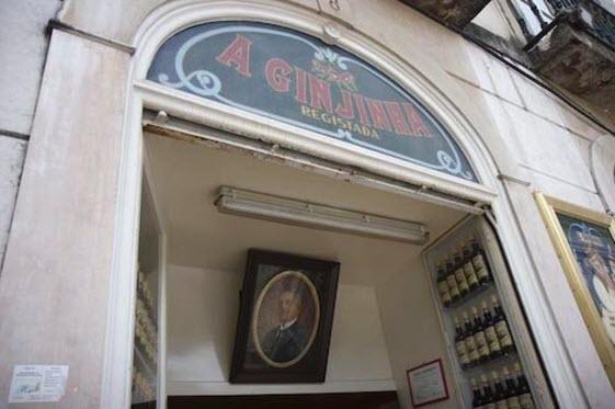 La Espinheira Ginjinha fue el primer establecimiento de Lisboa en comercializar el famoso licor