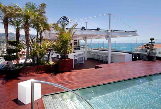 Sky Bar del Avenida Sofía Hotel & Spa de Sitges