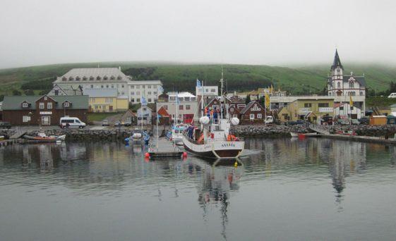 """La localidad de Húsavik es considerada """"la capital de las ballenas"""""""