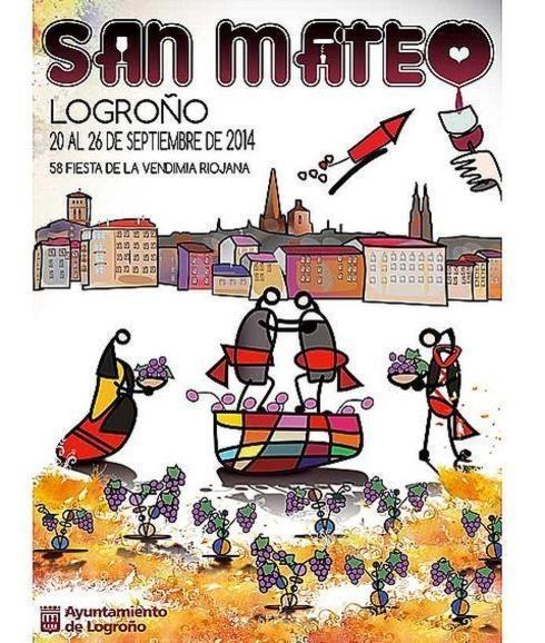 Cartel de las Fiestas de San Mateo 2014
