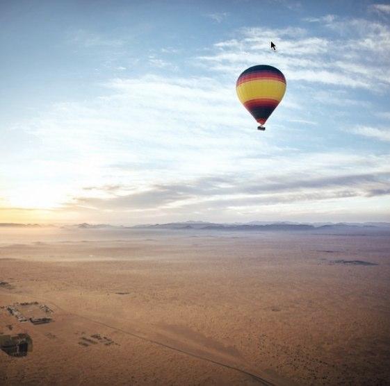 El espectacular desierto de Dubai según @colerise