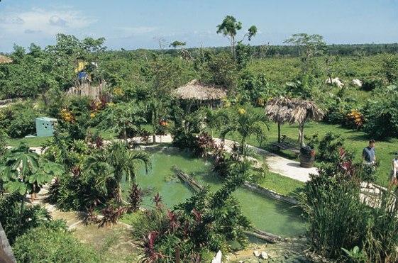 El Manati Park es uno de los lugares más turísticos de la República Dominicana.