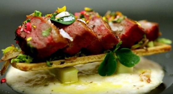 El Pichonetto meronatto de la chef Begoña Rodrigo. Foto Antena 3.