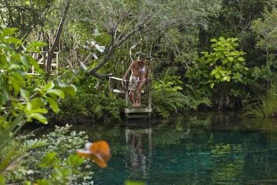 El Parque y Reserva Ecológica Ojos Indígenas es una área protegida privada que pertenece y es operada por la Fundación Ecológica Punta Cana.
