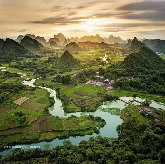 Guangxi. Foto de @wonderfulplaces