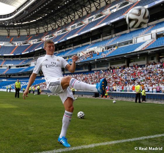 Toni Kroos es uno de los fichajes estrella del Real Madrid.