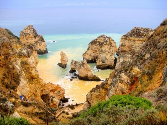 Playas y calas de Algarve