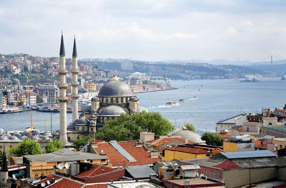 Panorámica de Estambul, Turquía.