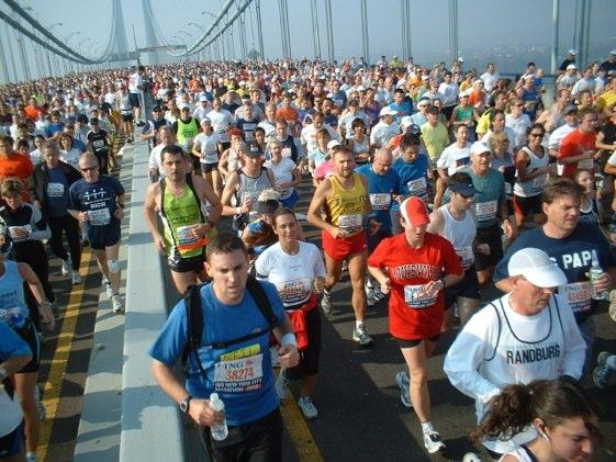 El legendario maratón de Nueva York es un auténtico espectáculo en sí mismo.