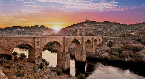 Puente de Alcántara, en Cáceres.