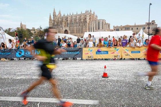 El Maratón de la Tui de Palma es una de las citas deportivas más importantes de la capital balear.