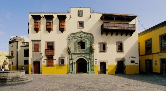 El barrio de Vegueta, en Las Palmas de Gran Canaria.