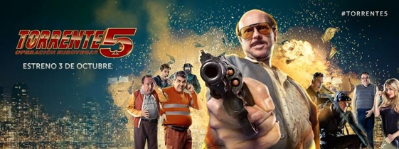 """Torrente 5. Operación Eurovegas"" se estrena en más de 800 salas de toda España."