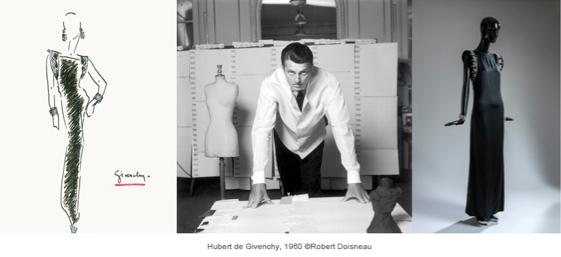 Hubert de Givenchy. Foto © Robert Doisneau/ © 2014 Museo Thyssen-Bornemisza.