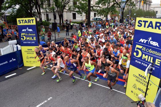 Más de 50.000 corredores terminaron la edición 2013 del Maratón de Nueva York.