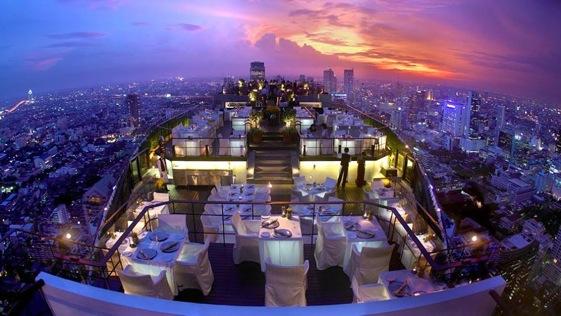 Vertigo Restaurant & Moon Bar. Banyan Tree Hotel, Bangkok