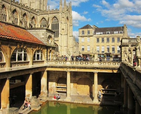 Bath es una de las ciudades inglesas con más encanto.