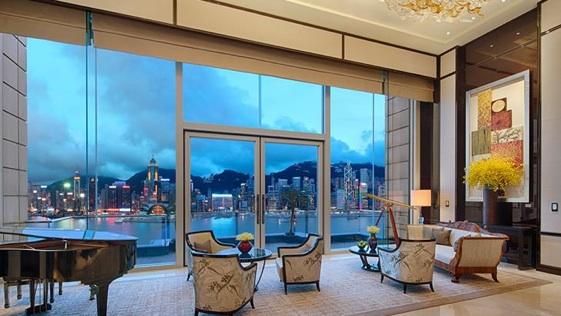 Peninsula Suite del Peninsula Hotel de Hong Kong.