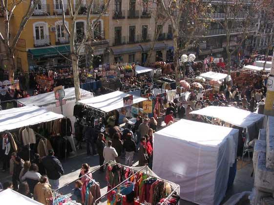 ¿Qué hacer un domingo en Madrid? ¡Ir al Rastro!