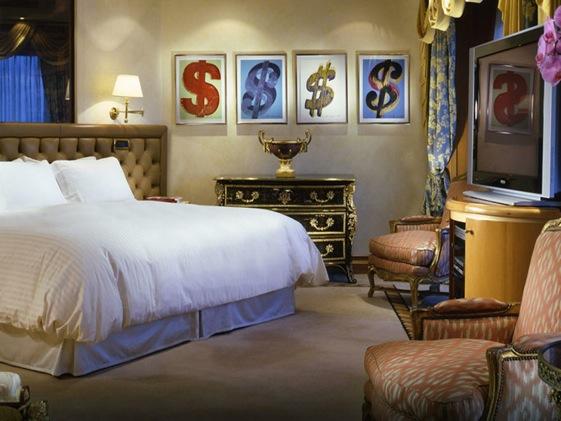 Penthouse Suite del Cavalieri Waldorf Astoria Hotel de Roma.