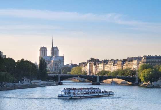 Crucero por el Río Sena, París