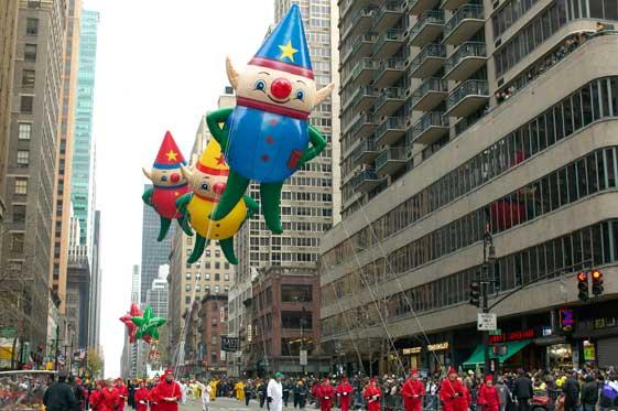 Desfile de Acción de Gracias de Macy's en Nueva York