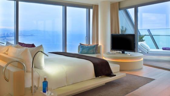 Wow Suite del Hotel W de Barcelona.