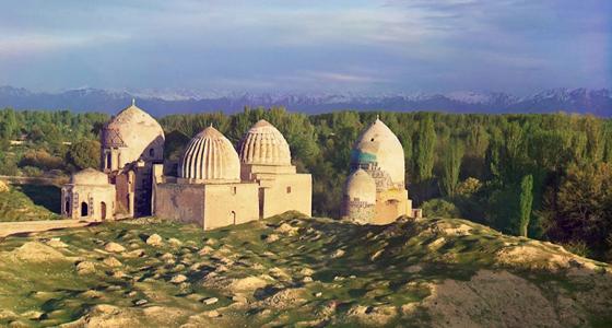 Destinos: Uzbekistán