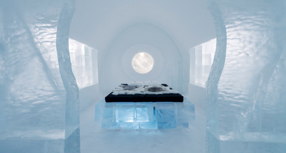 Ice Hotel. Foto: Leif Milling