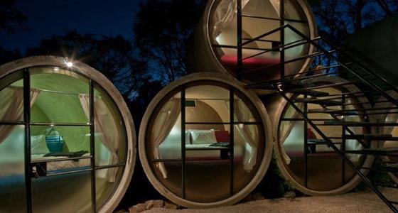 Tubohotel. Foto: Luis Gordoa