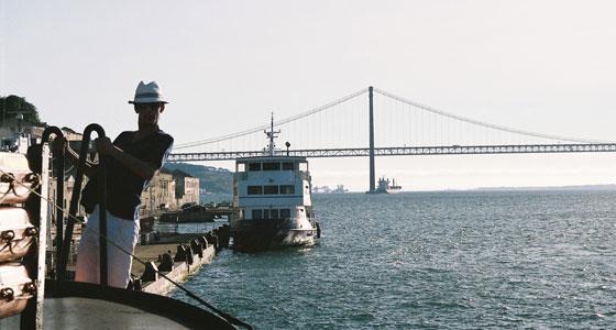 Vistas desde el muelle de Cacilhas (Lisboa). Foto: Paulo Albuquerque