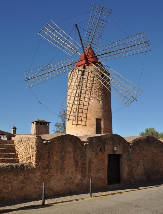 6. Molino de Algaida, (Mallorca)