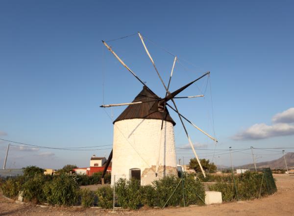9. Molinos de Campo de Cartagena (Murcia)