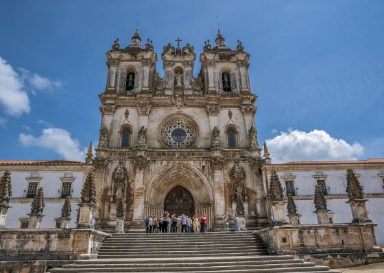 Portugal, Alcobaça. Monastery of Santa Maria de Alcobaça