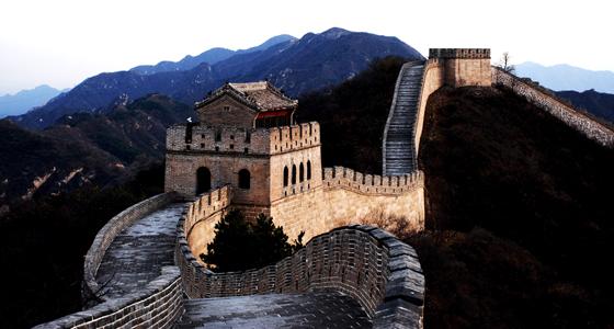 """Gran Muralla China / Foto: SmokingPermitted - """"Cosa sono? La bambina dei no"""""""