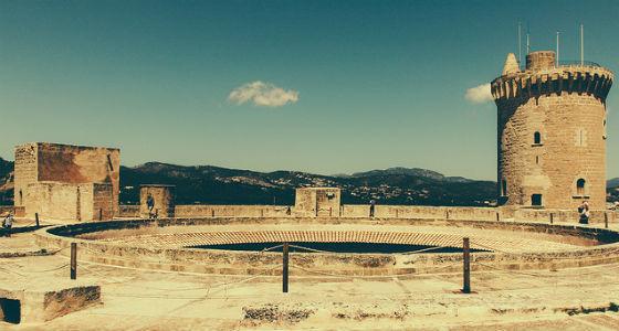 Castillo de Bellver: 15 mejores castillos de España