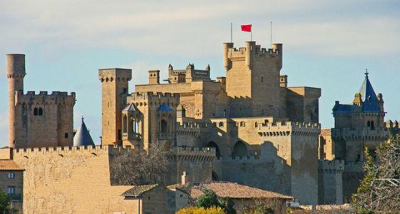Castillo de Olite: 15 castillos de España